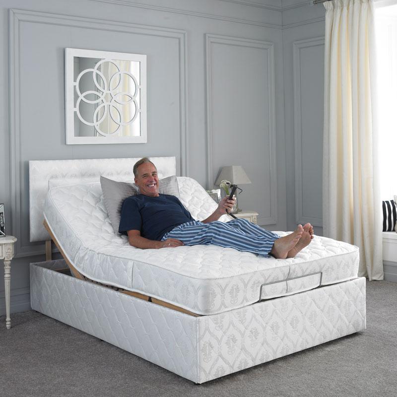 Remarkable Haddon Adjustable Bed Inzonedesignstudio Interior Chair Design Inzonedesignstudiocom
